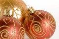 Free Glittering Christmas Balls Stock Photos - 7047823