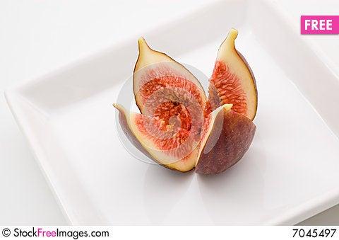 Fresh fig fruit Stock Photo