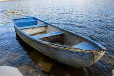 Free Blue Boat Stock Photos - 7040113