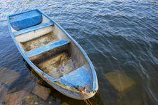 Free Blue Boat Stock Photo - 7040120
