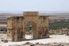 Free Entrance To The Roman Ruins Royalty Free Stock Photos - 7040508