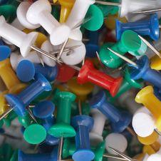 Push Pins Royalty Free Stock Photos