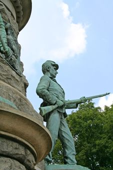 Free Confederate Soldier Stock Image - 7040941