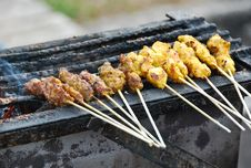Free Satay 2 Stock Photo - 7041260