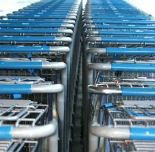 Free Shopping Carts Stock Image - 7041361