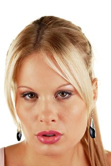 Free Attractive Blonde Female Beauty Stock Photos - 7041723