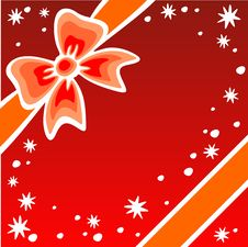 Free Red Christmas Background Royalty Free Stock Photography - 7041977
