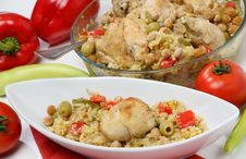Free Chicken Meat With Vegetable Royalty Free Stock Photos - 7042088