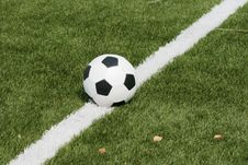 Free Football In Stadium Royalty Free Stock Photography - 7042307