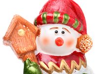Free Snowman Stock Image - 7042421