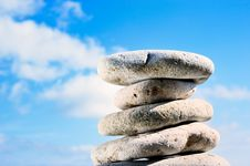 Free Stones Against The Sky Stock Image - 7042511