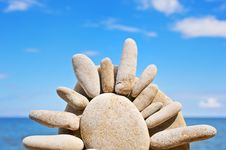 Free The Stone Sun Stock Photography - 7042532