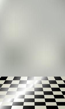 Free Chessboard Floor Stock Photo - 7043140
