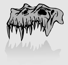 Free Skull Of Demon Stock Photo - 7043540