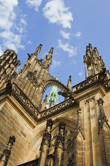 Free St.Vitus Cathedral-Prague Castle Royalty Free Stock Photography - 7043857