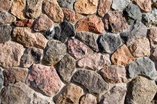 Free Stone Wall Background And Texture Royalty Free Stock Image - 7045246