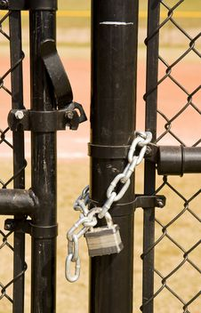 Free Unlocked Gate Stock Photo - 7045710