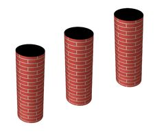 Free Chimneys Or Smokestacks Stock Photos - 7046253