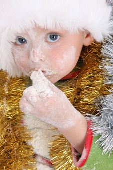 Free Baking Christmas Cookies Stock Images - 7046324