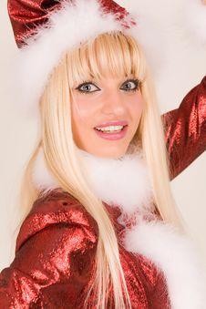 Free Sensual Mrs. Santa Claus Royalty Free Stock Photos - 7046358