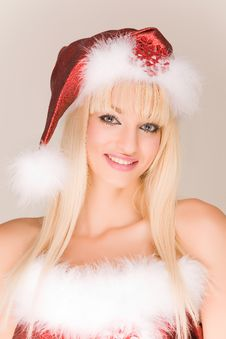 Free Beautiful Mrs. Santa Claus Royalty Free Stock Photography - 7046487