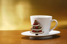 Free Milk And Cookies For Santa Stock Photography - 7046602