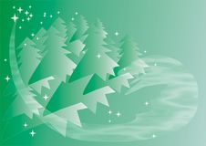 Free Christmas Trees Royalty Free Stock Images - 7046959