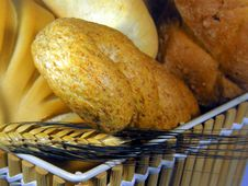Free Bread Basket Royalty Free Stock Image - 7047016