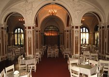 Castle Dining Room Stock Photography