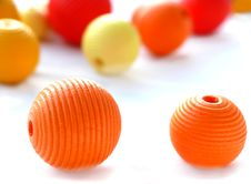 Free Colorful Beads Royalty Free Stock Photography - 7048097