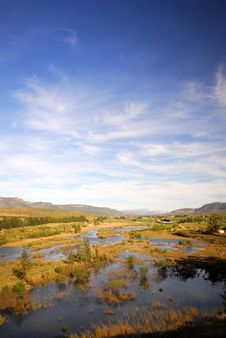 Free African River Royalty Free Stock Photo - 7048265