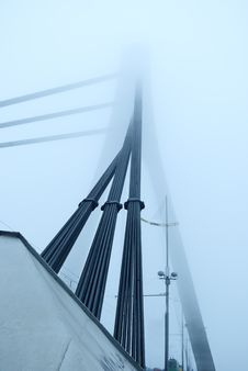 Free Constructions Are In Fog Stock Images - 7048664