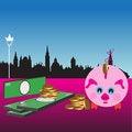 Free Saving Money Royalty Free Stock Images - 7051809