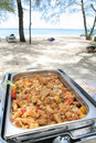 Free Buffet Lunch In The Island Stock Images - 7052504