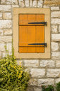 Free Stone House Wall With Window Stock Photos - 7057393