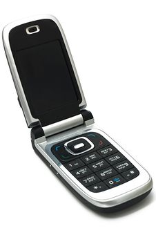 Free Mobile Phone With Russian Keyboard Stock Images - 7050644