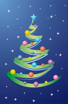 Free Christmas Tree Royalty Free Stock Image - 7050856