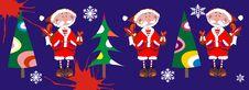 Free Vector Santa Royalty Free Stock Images - 7051509