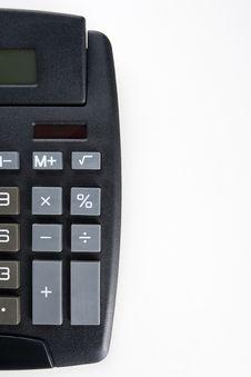 Free Calculator Blank Stock Photography - 7051712