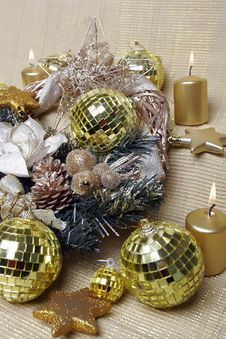 Free New Year S And Christmas Decoration Royalty Free Stock Image - 7051796