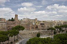 Free Roman Trajan Markets Royalty Free Stock Images - 7051939