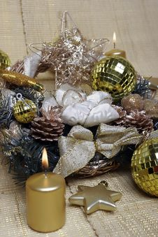 Free New Year S And Christmas Decoration Stock Image - 7052411