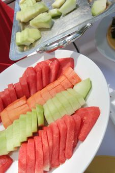 Free Fruit At Buffet Royalty Free Stock Image - 7052516