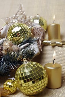 Free Christmas Ans New Year S Decoration Royalty Free Stock Images - 7052669