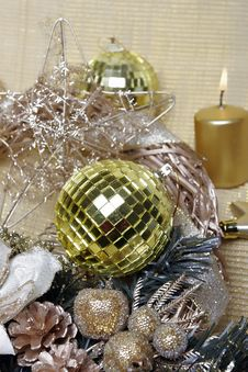 Free Christmas Ans New Year S Decoration Royalty Free Stock Photos - 7052788