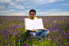 Free Young Man In A Flied Stock Photo - 7052820
