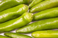 Free Green Hot Peppers Royalty Free Stock Photos - 7052928