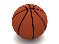 Free Three Dimensional Basket Ball Royalty Free Stock Images - 7053169