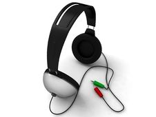 Free Three Dimensional Headset Stock Image - 7053241