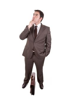Free Businessman Thinking Expression Stock Photography - 7053242